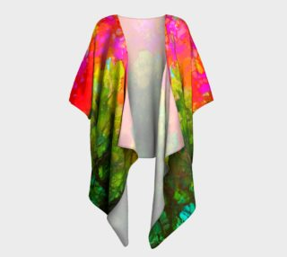 Hollyhocks High Draped Kimono preview