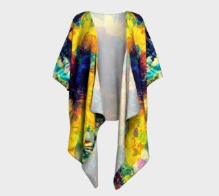 Sunflower Batik Draped Kimono preview