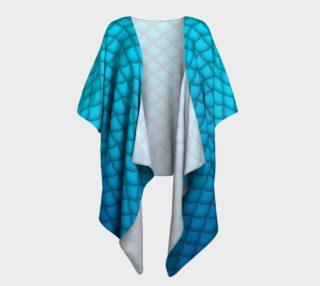 Blue Mermaid Kimono preview