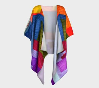 Aperçu de Abstract 1931 Draped Kimono