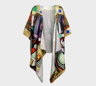 Picasso art collage  Draped Kimono aperçu