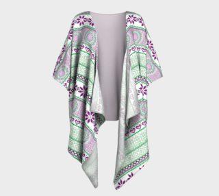 Aperçu de Mint Tribe Kimono