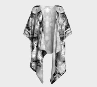 Gray Marble Draped Kimono preview