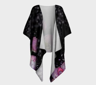 Mystical Lotus Draped Kimono preview