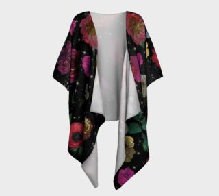 Heavenly Garden Draped Kimono preview
