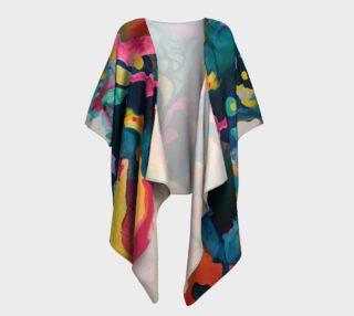 Rhythm Rejoice draped kimono preview