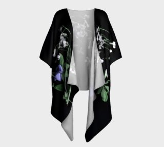 My flowers Draped Kimono preview