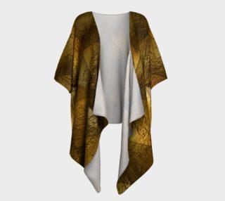 Classic Luxury Draped Kimono preview