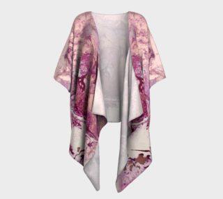 Purple Copper Majesty Draped Kimono preview