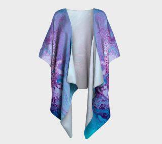 Runaway Galaxy Draped Kimono preview