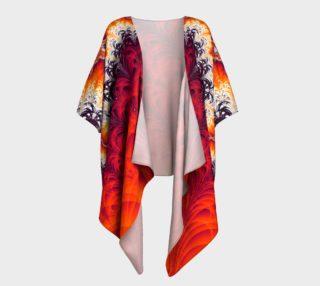 Lightning Bolt Draped Kimono preview