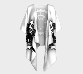 Hellfire Club Kimono (Black & White) preview