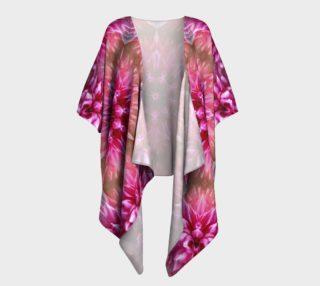 Shimmerflower Draped Kimono preview