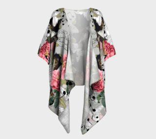 Music Draped Kimono preview