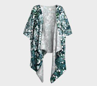 Aperçu de Blooming garden Draped Kimono