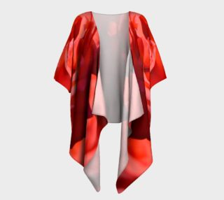 La Vie en Rose Draped Kimono preview