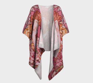 Aperçu de  Alfons Mucha pattern2 Draped Kimono