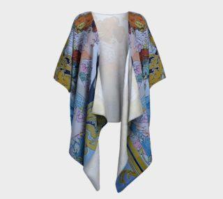 Aperçu de Art Nouveau Draped Kimono