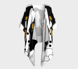 english springer spaniel peeking black white and tan preview