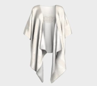Tropical Wedding Lace Draped Kimono aperçu