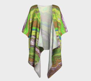 Aperçu de Geode Draped Kimono