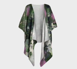 Pixie Flowers Draped Kimono preview