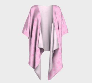 Cartoon Rose Draped Kimono preview