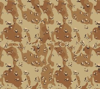 Desert Camouflage (Chocolate Chip) preview