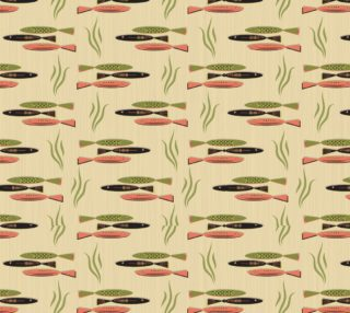 Mid-Century Modern Fish sm preview