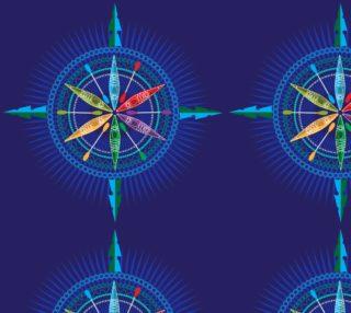 Kayak Compass Rose Lrg preview