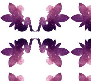 Purple Fairy Quad Flip Fabric preview