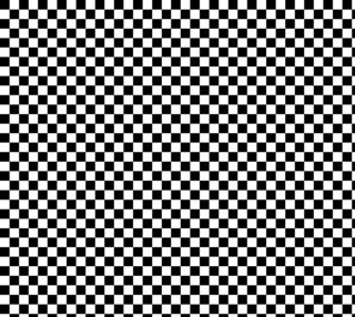 One Inch Black and White Checkerboard Squares. Each square is one inch wide and tall.  preview