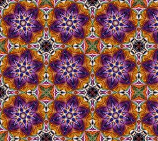 Colourful Mandala Fabric preview