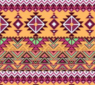 Aperçu de Unique Abstract Aztec Geometric