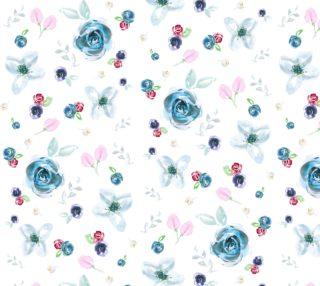 Aperçu de Soft Strewn Florals