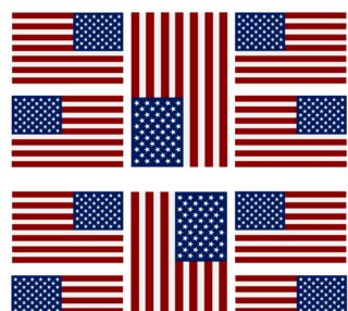 American Flag Fabric preview