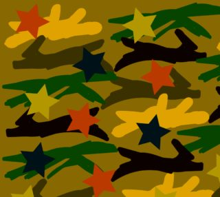Ballpark Crush Camouflage Fabric preview