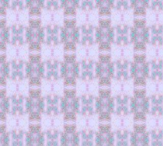 Mock Floral Tribal Plaid Pattern preview