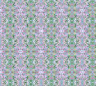 Mock Floral Tie Dye Crossings Pattern preview