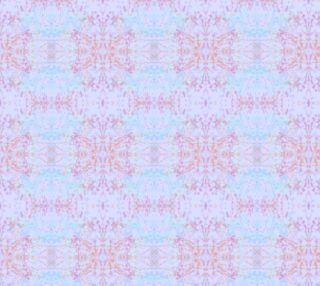 Mock Floral Pale Ikat Butterfly Pattern preview