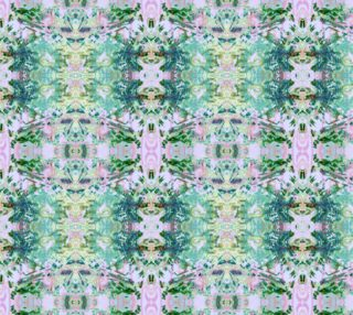 Mock Floral Ikat Ogees Pattern preview