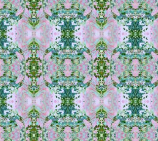 Mock Floral Butterfly Totem Pattern preview