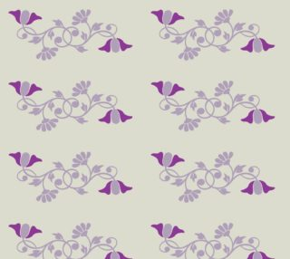 Lady Mary's Floral Vine Fabric preview