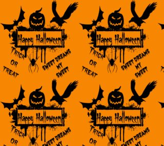 Happy Halloween Fabric preview