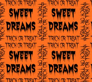 Sweet Dreams Halloween Fabric preview