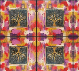 Aperçu de Autumn Window - Fabric