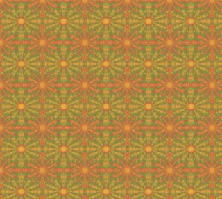 """""""Sunshinine"""", abstract pattern in yellow and orange tones preview"""