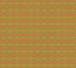 """""""Sunshine"""", abstract pattern in yellow and orange tones preview"""