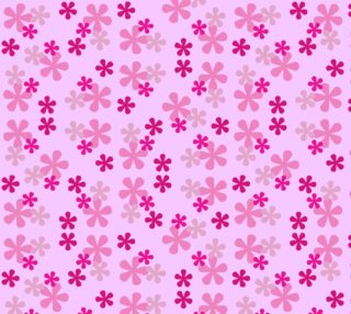 Pink Retro Flowers preview