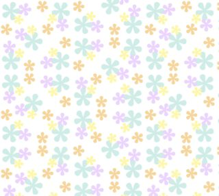 Pastel Retro Flowers preview